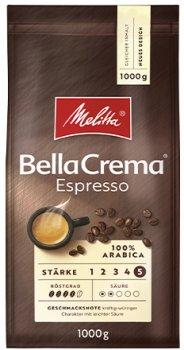 Жареный кофе в зернах Melitta Bella Crema Espresso 1 кг (4002720008300)