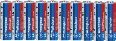 Солевые батарейки Westinghouse Super Heavy Duty AА/R6 10 шт (R6P-SP10)