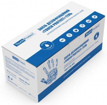 Упаковка антисептика Touch Protect гель для рук у саше 2 мл x 100 шт. (4823109402140)