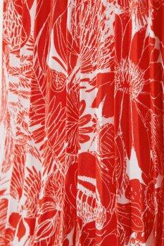 Спідниця H&M 6457548 Червона з білим