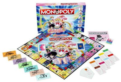 Настільна гра Winning Moves Monopoly Sailor Moon (5036905036177)