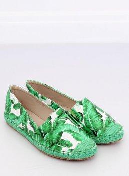 Жіночі сліпони, колір Зелений, код 10442