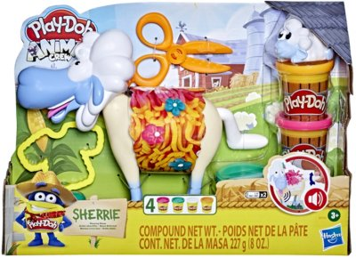 Игровой набор Play-Doh Стрижка овец (E7773)