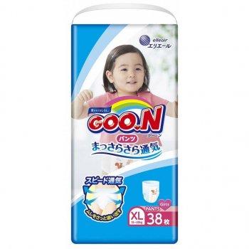 Підгузник GOO.N для дівчаток 12-20 кг, XL, 38 шт (843099)