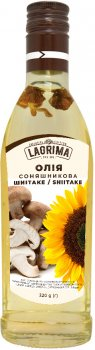 Набор подсолнечного масла Lagrima del Sol Shiitake, Ginger к Горячим блюдам 225 г х 2 шт (3333333333338)