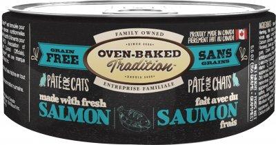 Влажный корм Oven-Baked Tradition Bio Biscuit полностью беззерновой паштет для котов из свежего мяса лосося