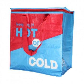 Термосумка, сумка-холодильник 32х20х35 см 22 л Sannen Cooler Bag Червоно-синя