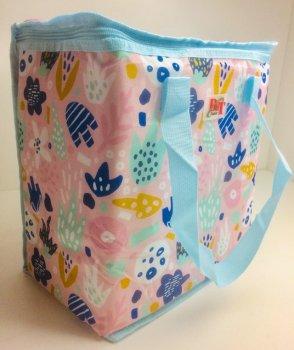 Термосумка, сумка-холодильник 32х20х35 см 22 л Sannen Cooler Bag Рожева