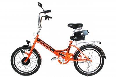 Электровелосипед Складник 20 дюймов колесо 36В 350Вт 8.8 Ач литий ионный аккумулятор