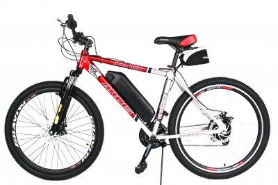 Електровелосипед KALIBER на алюмінієвій рамі 26 колесо 36В 350Вт 10 ач на літій-іонному акумуляторі