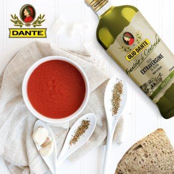 Оливкова олія нефільтрована Olio Dante Frantoio Di Contrada Extra Virgin першого холодного пресування 0.75 л (8033576194721/8033576195179/18033576195176)