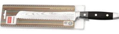 Нож для хлеба стальной Lamart LT2043 , 33,5 см, лезвие 20см