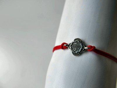 """Браслет из серебра 925° и шелка """"Милан"""" на руку SilverArtisan 1.71221 размер 16"""