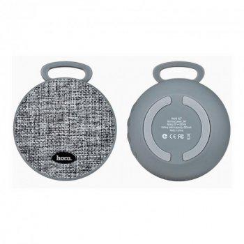 Портативна переносна Bluetooth вологостійка колонка Speaker Hoco Clip BS7. Сіра