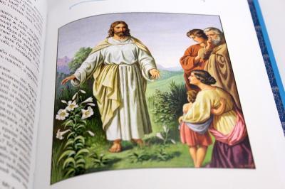 Дитяча Біблія з Біблійними оповіданнями в малюнках (3033)