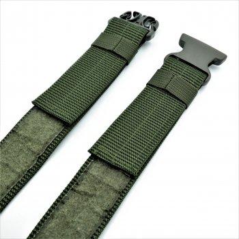 Тканевый ремень тактический LEMON Зелёный tkn-50tkt-002