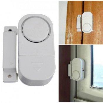 Магнітна сигналізація зі звуком на вікна та двері Penkid Білий (zhb0117)