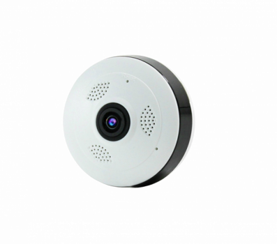 Панорамная камера IP WiFi в форме Шайба UKC V380 White (zhb0031)