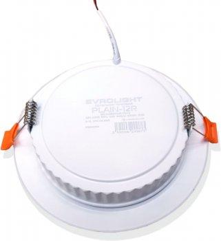 Світильник точковий Evrolight PLAIN-12R 12 Вт 6400 K (41063)