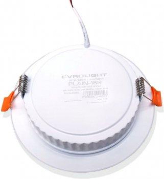 Світильник точковий Evrolight PLAIN-18R 18 Вт 4200 K (41065)