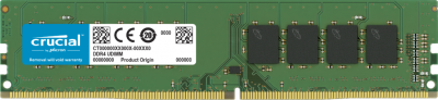 Оперативна пам'ять Crucial DDR4-3200 8192 MB PC4-25600 (CT8G4DFRA32A)