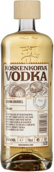 Водка Koskenkorva Sauna Barrel 0.7 л 37.5% (6412700513706)