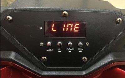 Колонка на акумуляторі з бездротовим мікрофоном Ailiang UF-1018 /100W (USB/Bluetooth/FM)