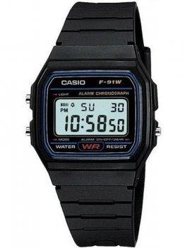 Чоловічі наручні годинники Casio F-91W-1YEF