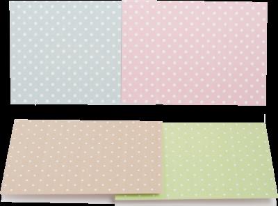 Заготівля для листівок ZiBi Dot World 105 х 148 см (ZB.18227-AD)