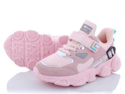 Дитячі кросівки для дівчинки в рожевому кольорі