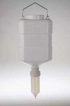 Дозатор Boobs прозрачный диспенсер комплект на 5 л с ручкой и крышкой
