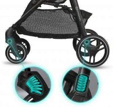 Прогулянкова коляска Kinderkraft Grande City Black (KKWGCITBLK0000) (5902533914616)