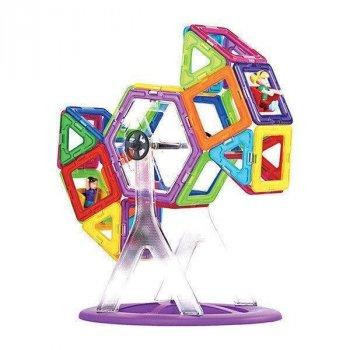 Магнитный конструктор Limo Toy MAGniSTAR 4002 46 деталей Цветные магниты Колесо обозрения