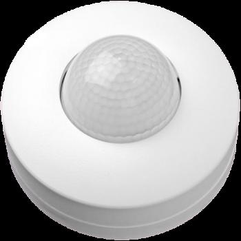 Датчик руху белыйй IP44, НЛО COMPACT (360°) LU-DD04-WHITE