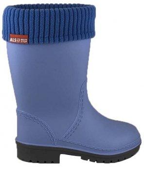 Резиновые сапоги Alisa Line WIN 801 Синие W