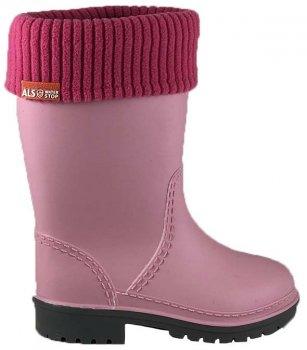 Резиновые сапоги Alisa Line WIN 801 Розовые - W
