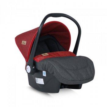 Дитяче автокрісло Bertoni Lifesaver, група 0+ (0-13 кг) black&red 20580