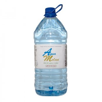 Вода МЕДИННА+ AquaMelan с меланином бутыль 6 литров W6