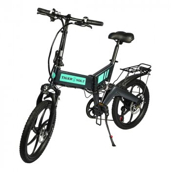 Электровелосипед TigerVolt 20 темно-серый