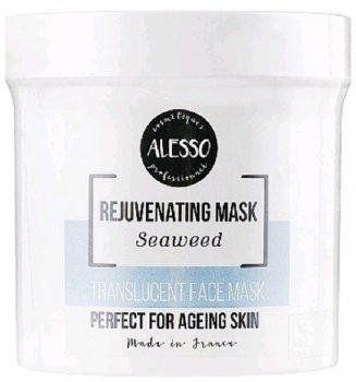 Альгинатная маска для лица Alesso полупрозрачная с Морскими водорослями стимулирующая 200 г (3273629286439)