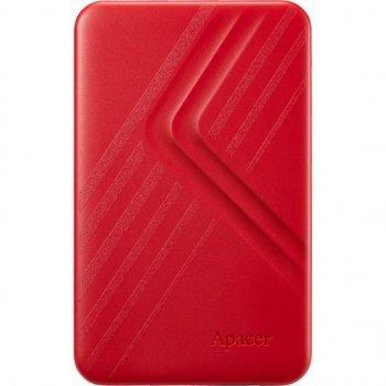 """Жорстку зовнішній диск USB Apacer 3.2 Gen1 AC236 2TB 2,5"""" Червоній (AP2TBAC236R-1)"""
