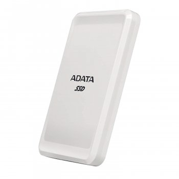 Портативний SSD A-DATA SC685 Portable 500GB USB 3.2 Type-C White (ASC685-500GU32G2-CWH)