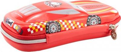 Объемный 3D пенал Cool For School 1 отделение Красный (QT-5645)