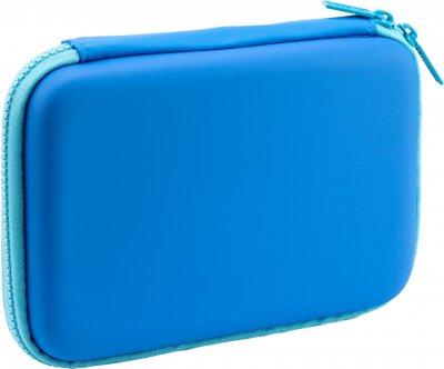 Пенал с тиснением Cool For School 1 отделение Голубой (QT-5704-Blue)