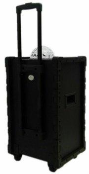 Колонка аккумуляторная DMS K10-10FZ Bluetooth USB MP3 Wireless LED