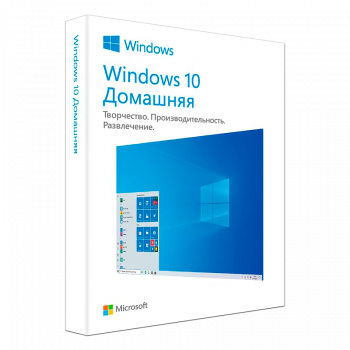 Операційна система Microsoft Windows 10 Домашня 32/64-bit Російська на 1ПК (коробкова версія, носій USB 3.0) (KW9-00502) (HAJ-00075)