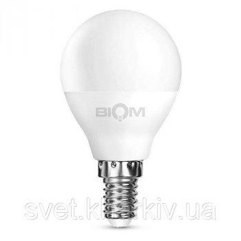 Светодиодная лампа Biom G45 4W E14 4500 К