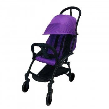 Коляска Yoya 175А+ Фиолетовая на черной раме