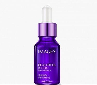 Омолаживающая сыворотка для лица Images Beautiful Bloom с экстрактом периллы и маслом шафрана, 15 мл