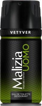 Дезодорант-спрей для мужчин Malizia Vetiver 150 мл (8003510001217)